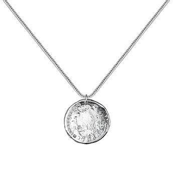 Colgante moneda topacios plata, J03590-01-WT, hi-res