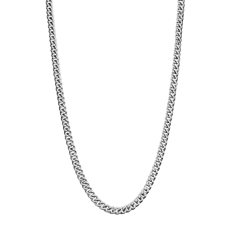 Long silver barbed chain, J00491-01-85, hi-res