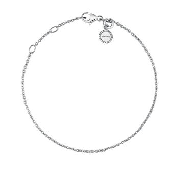 Pulsera simple plata, J03436-01, hi-res