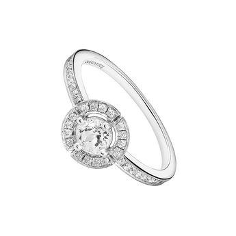 Anillo topacio orla diamante plata, J03771-01-WT-GD, hi-res