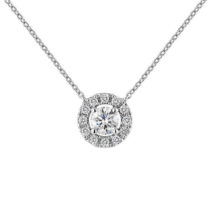 Colgante orla diamantes oro blanco 0,20 ct, J04221-01-20-06, hi-res