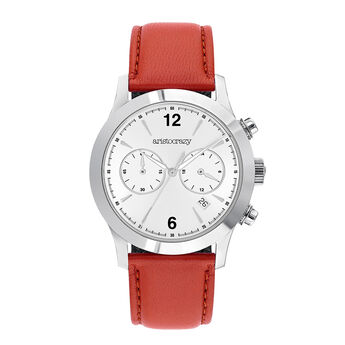 Red Tribeca watch, W53A-STSTGR-LERD, hi-res
