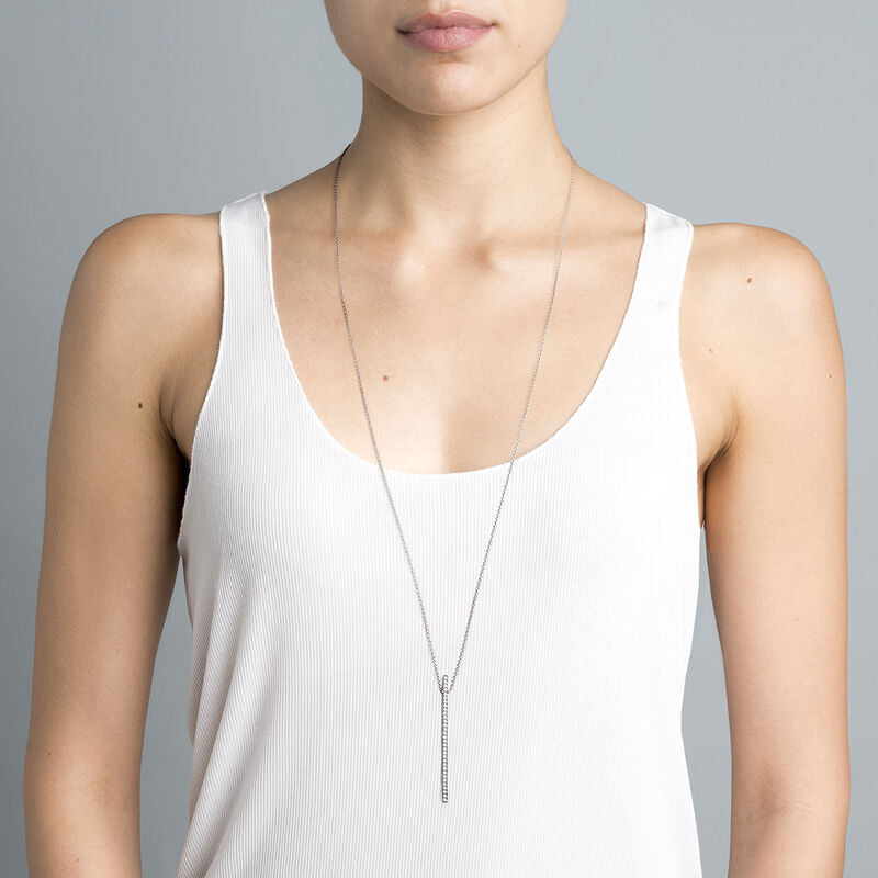Collar con colgante topacio plata, J04035-01-WT, hi-res