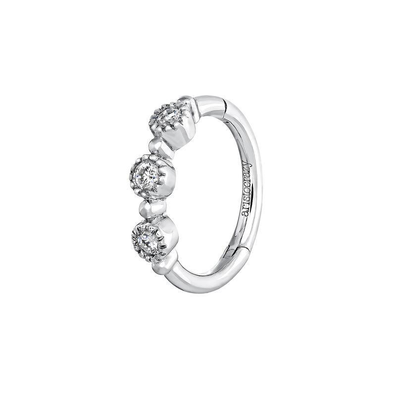 Piercing aro diamantes 0,042 ctoro blanco 9 kt, J03914-01-H, hi-res