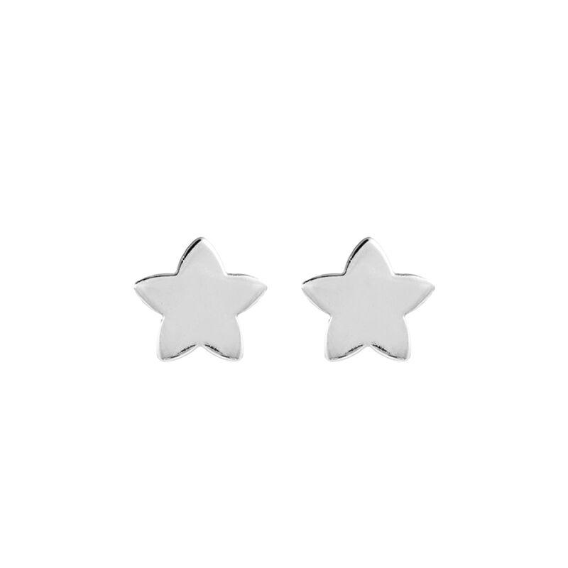 Pendientes estrella plata, J01086-01-NEW, hi-res