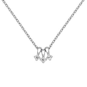Silver topaz necklace, J03695-01-WT, hi-res