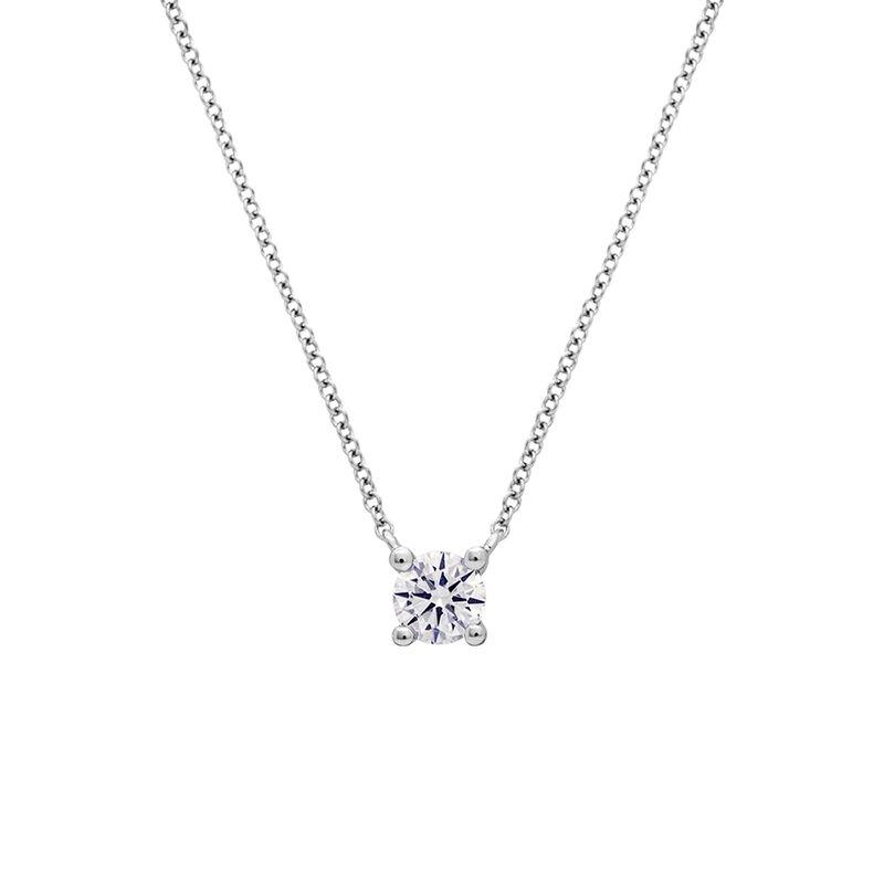 Colgante diamante 0,15 ct oro blanco, J01957-01-15-GVS, hi-res