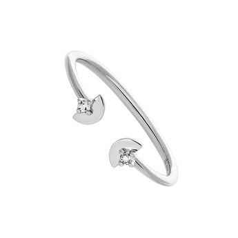 You and me silver topaz ring, J03744-01-WT, hi-res