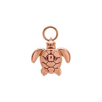 Pendentif tortue or rose, J03444-03, hi-res
