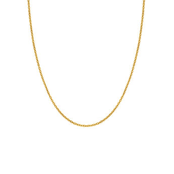 Gold long chain, J03737-02, hi-res