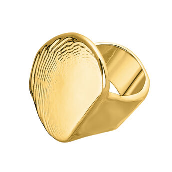 Large gold sculptural ring, J04056-02, hi-res