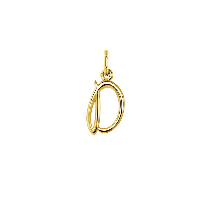 Colgante letra D oro, J03932-02-D, hi-res