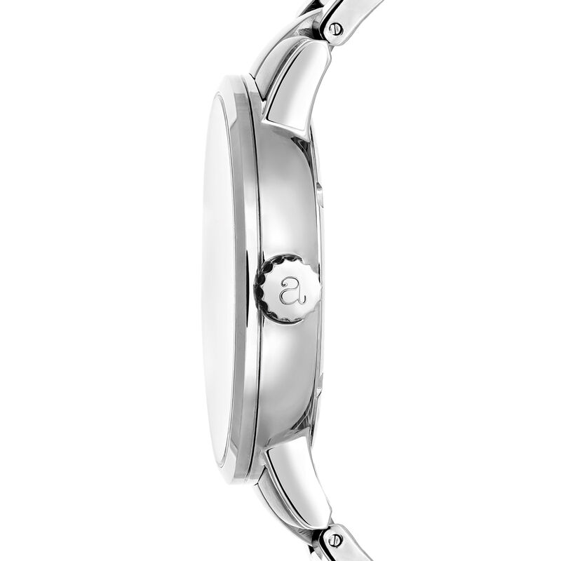 Brooklyn watch bracelet white face, W45A-STSTWH-AXST, hi-res
