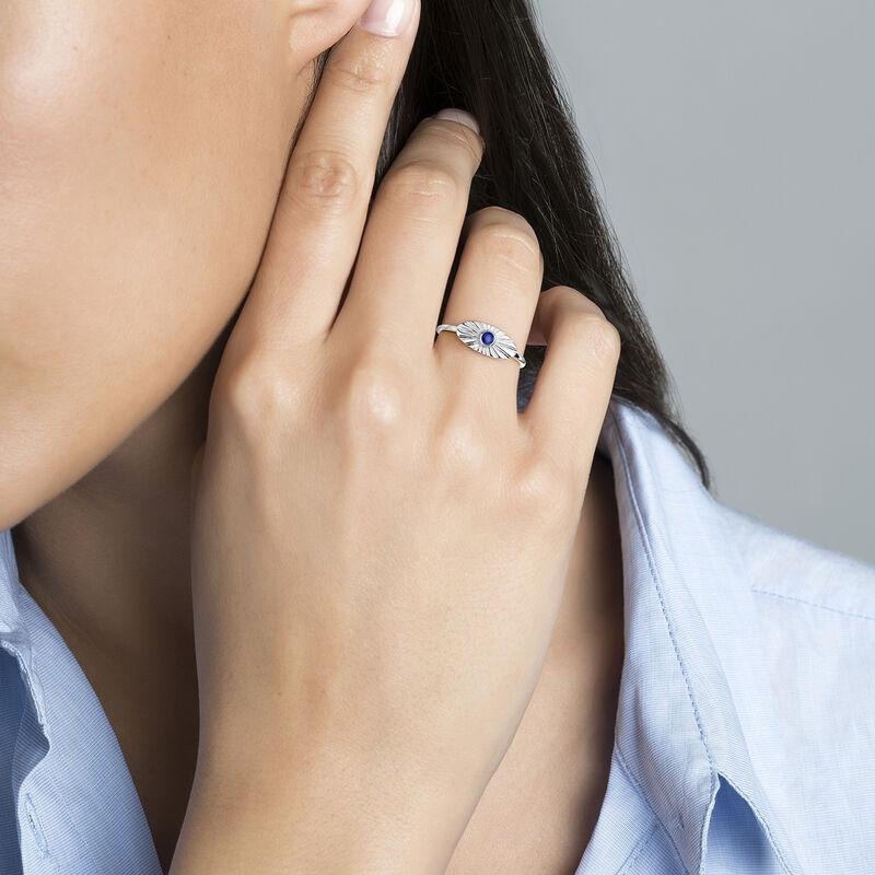 Oval ring lapislazuli silver, J04134-01-LPS, hi-res