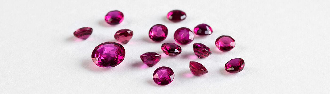 Joyas con rubí