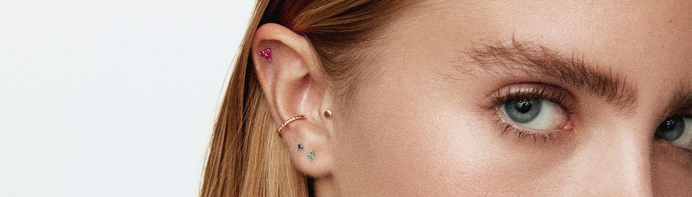 Piercings cartilage