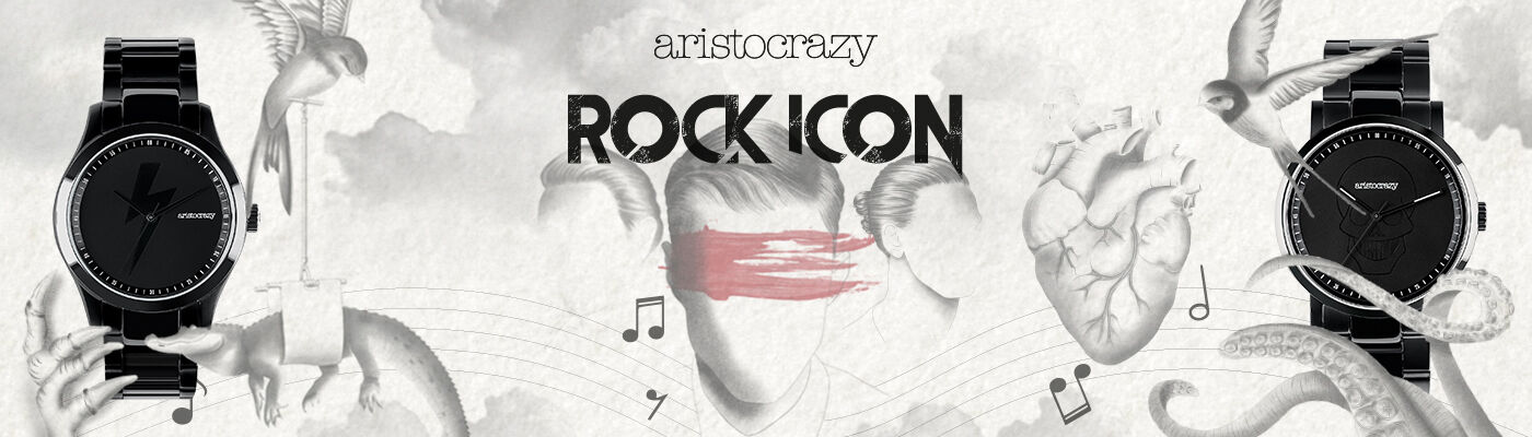 Rock Icon Watch And Jewelry Collection Aristocrazy