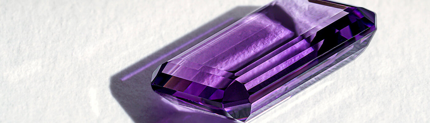 Jewels with amethyst