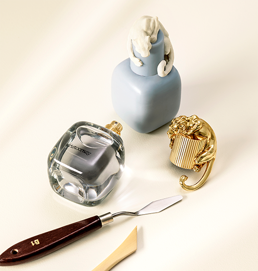 Bodegón perfumes femeninos aristocrazy