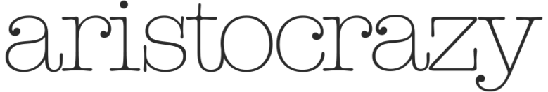 Aristocrazy Logo